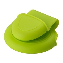 DOFTFUNKIA pinch holder, green Length: 14.5 cm Width: 7.4 cm Package quantity: 2 pack
