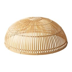 "VIKTIGT food cover, bamboo Diameter: 15 "" Height: 6 "" Diameter: 39 cm Height: 15 cm"
