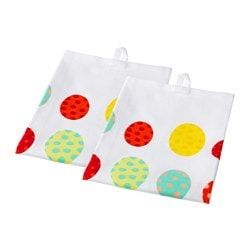 KACKLING tea towel, multicolour Length: 70 cm Width: 50 cm Package quantity: 2 pieces