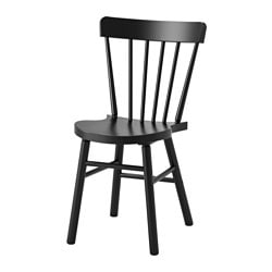 NORRARYD chair, black Tested for: 110 kg Width: 47 cm Depth: 51 cm