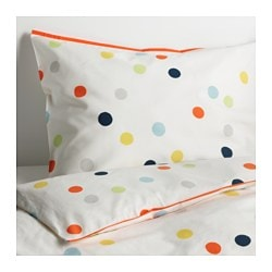 DRÖMLAND duvet cover and pillowcase(s), multicolor