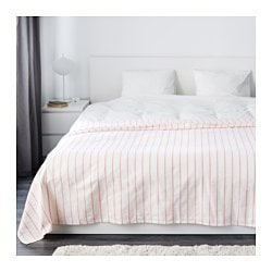 SOMMAR 2016 bedspread, white/red Length: 250 cm Width: 250 cm
