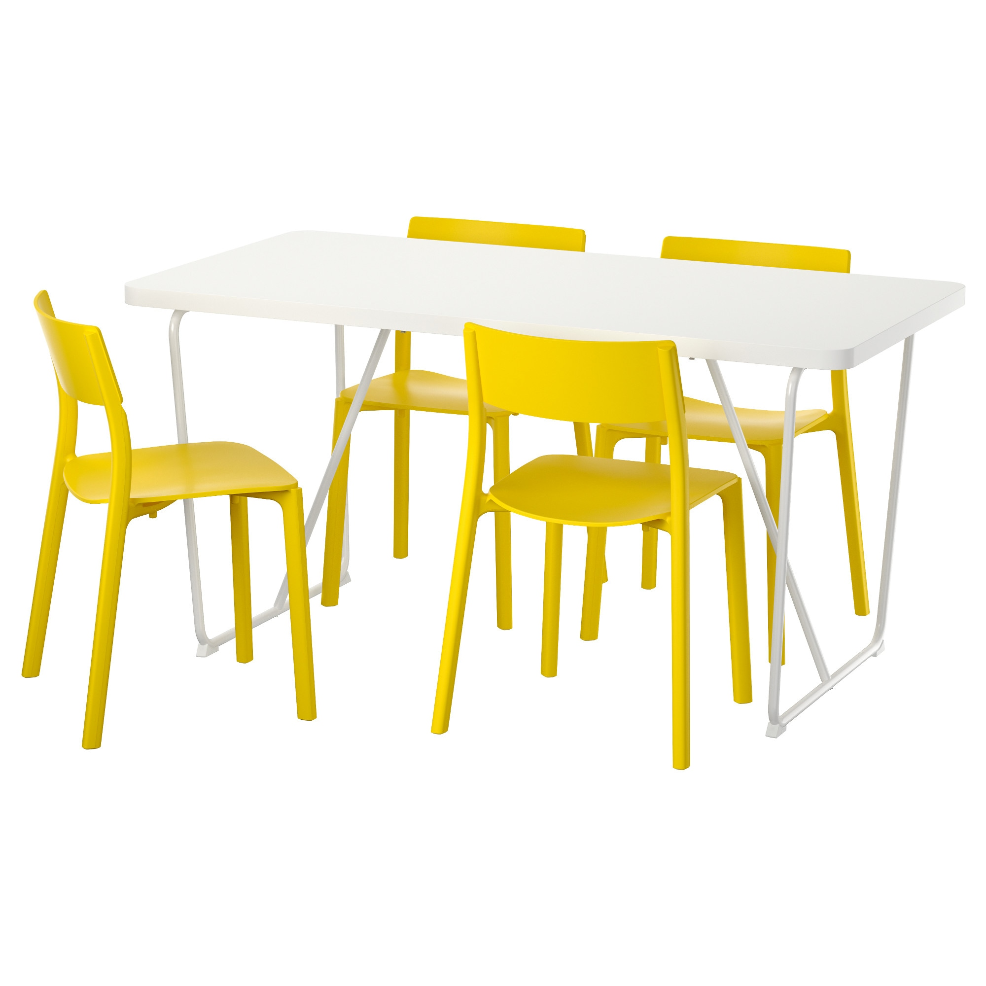 RYDEBCK BACKARYD JANINGE Table And 4 Chairs