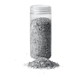 KULÖRT decoration, crushed glass, white Weight: 1 lb 9 oz Weight: 0.70 kg