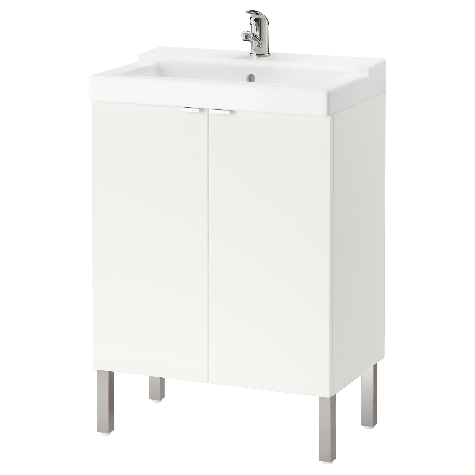 LILL NGEN   T LLEVIKEN sink cabinet with 2 doors  white Width  23 5 8. Sink Cabinets   Bathroom   IKEA