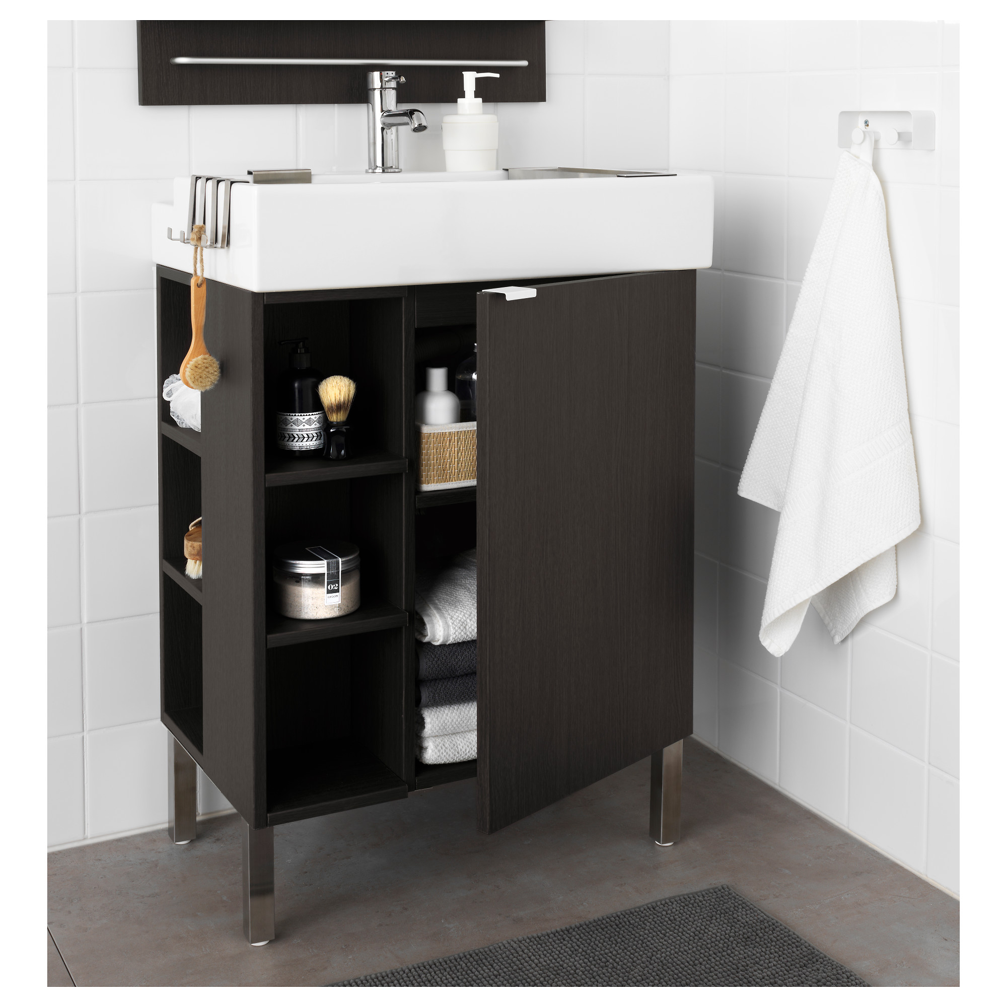 LILLÅNGEN End Unit   Black Brown   IKEA