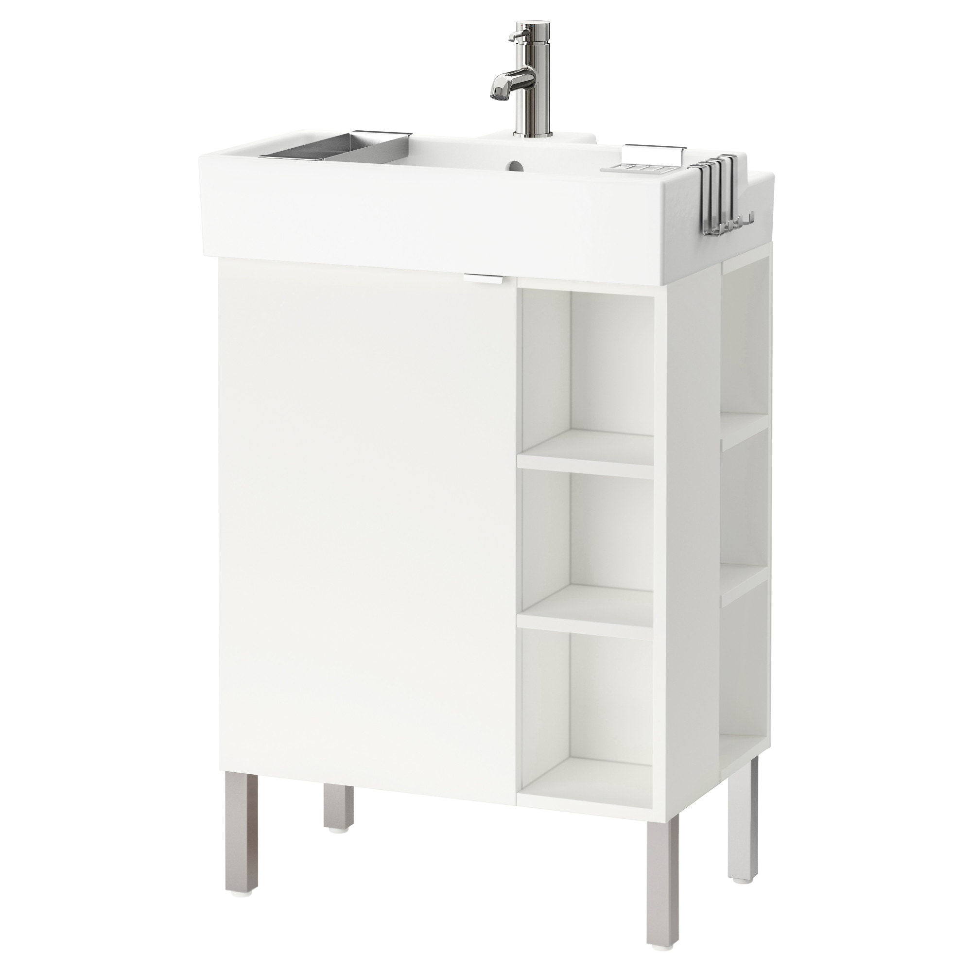 Lill Ngen Sink Cabinet 1 Door 2 End Units White Width 23 5