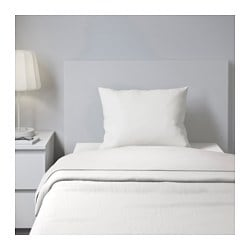 SÖMNIG sheet set, white Thread count: 166 /inch² Thread count: 166 /inch²
