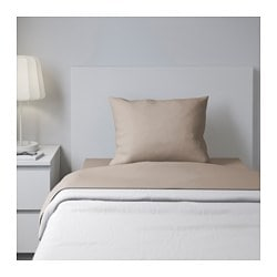 DVALA sheet set, beige Thread count: 144 /inch² Thread count: 144 /inch²