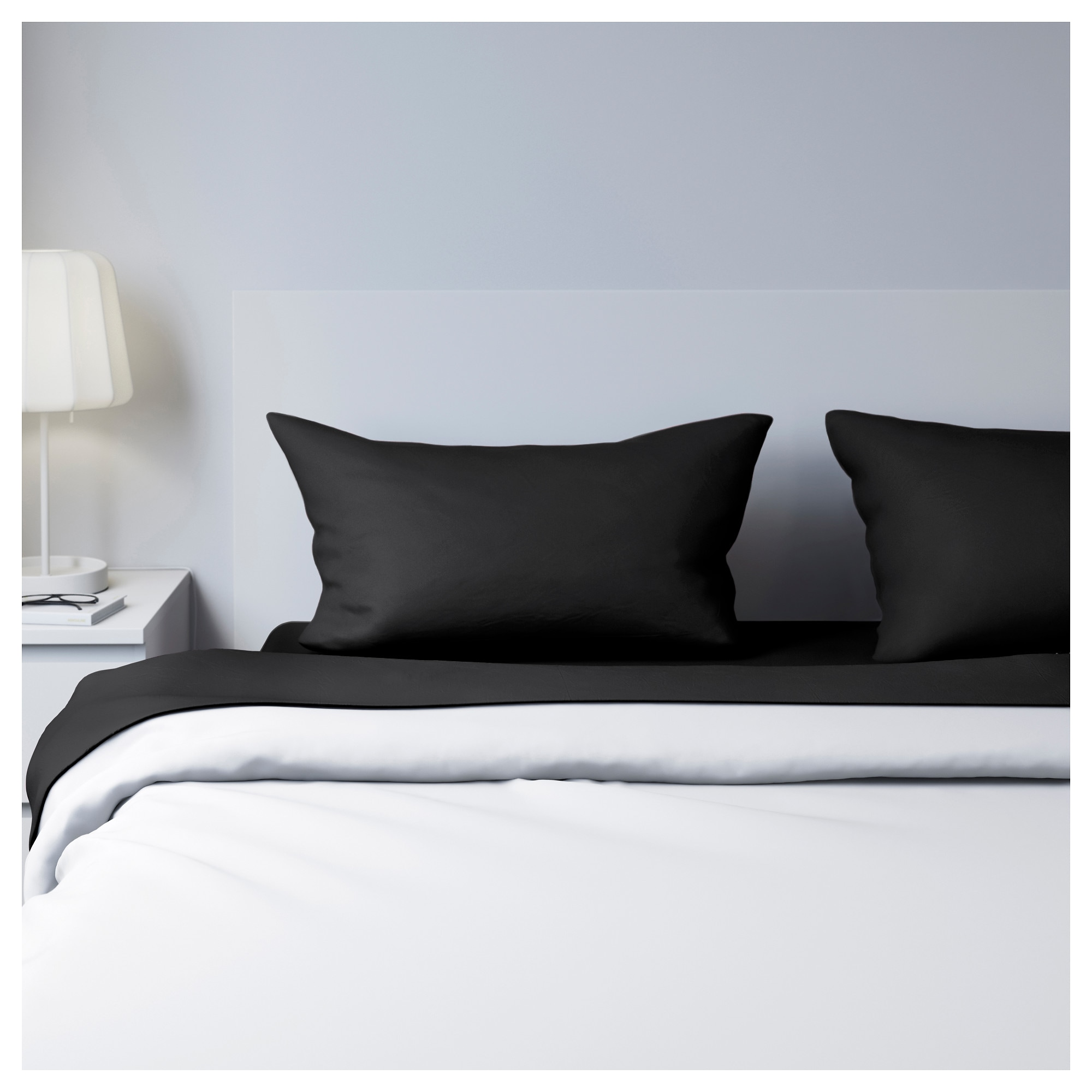 Black and blue bed sheets - Dvala Sheet Set Black Thread Count 144 Inch Thread Count