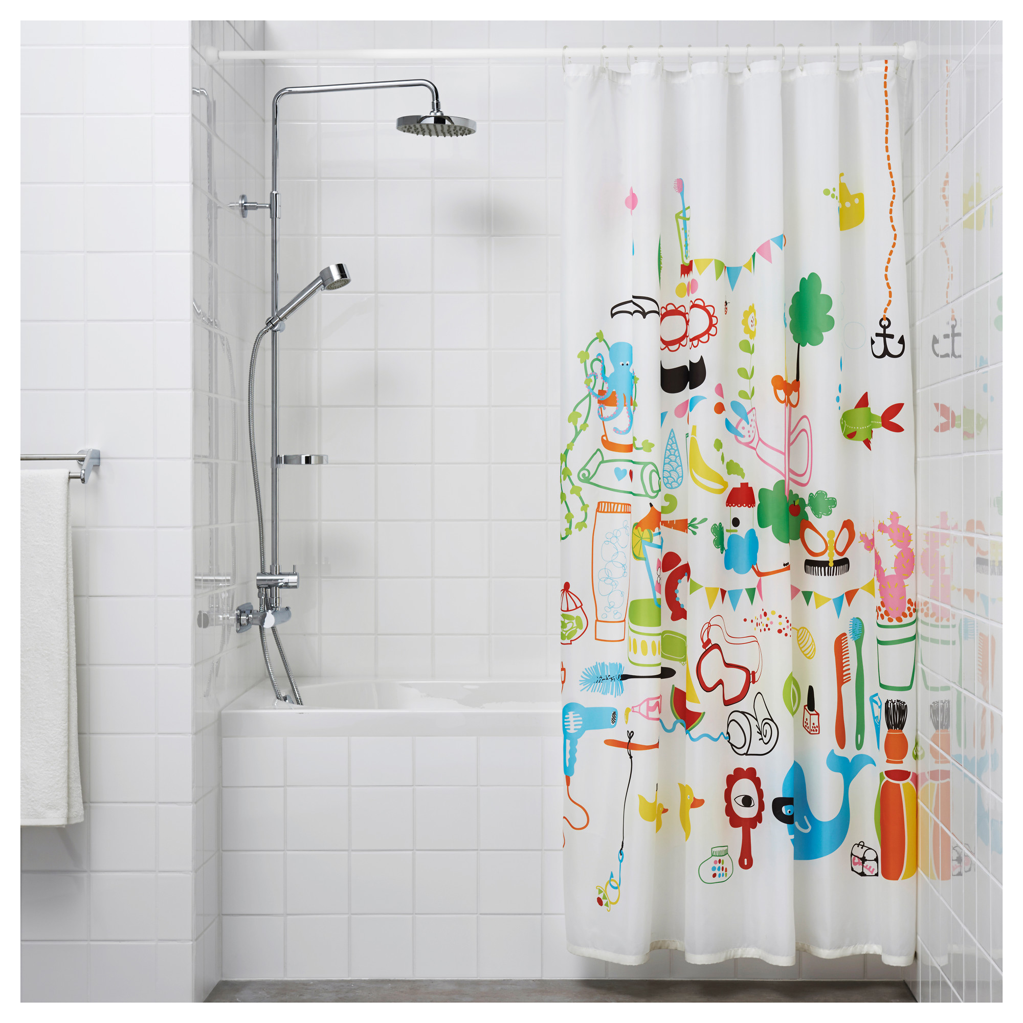 botaren shower curtain rod ikea - Ikea Shower Curtains