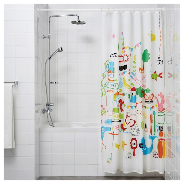 IKEA BOTAREN Shower curtain rod