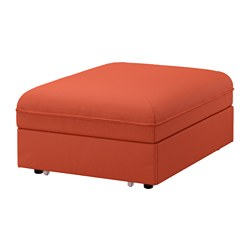 VALLENTUNA cover for seat module with bed, Orrsta orange