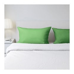 "DVALA pillowcase Thread count: 144 square inches Length: 20 "" Width: 30 "" Thread count: 144 square inches Length: 51 cm Width: 76 cm"