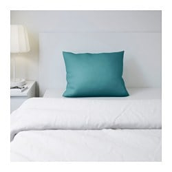 GÄSPA pillowcase, turquoise Thread count: 310 /inch² Length: 50 cm Width: 60 cm
