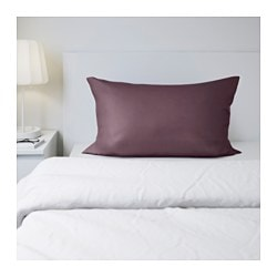 GÄSPA pillowcase, dark lilac Thread count: 310 /inch² Length: 50 cm Width: 80 cm