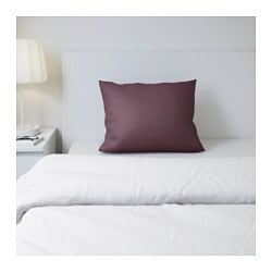 GÄSPA pillowcase, dark lilac Thread count: 310 /inch² Length: 50 cm Width: 60 cm
