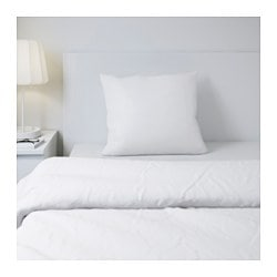 GÄSPA pillowcase, white Thread count: 310 /inch² Length: 50 cm Width: 80 cm