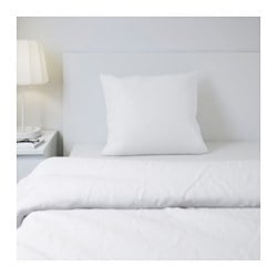 GÄSPA pillowcase, white Thread count: 310 /inch² Length: 50 cm Width: 60 cm