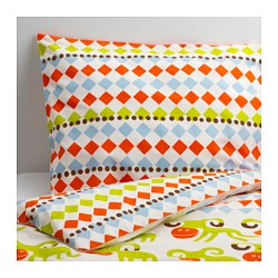 KOSSAN Quilt cover and pillowcase $19.99