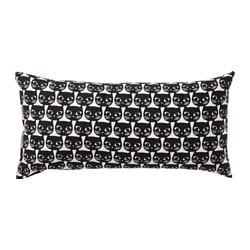 MATTRAM, Cushion, white, black