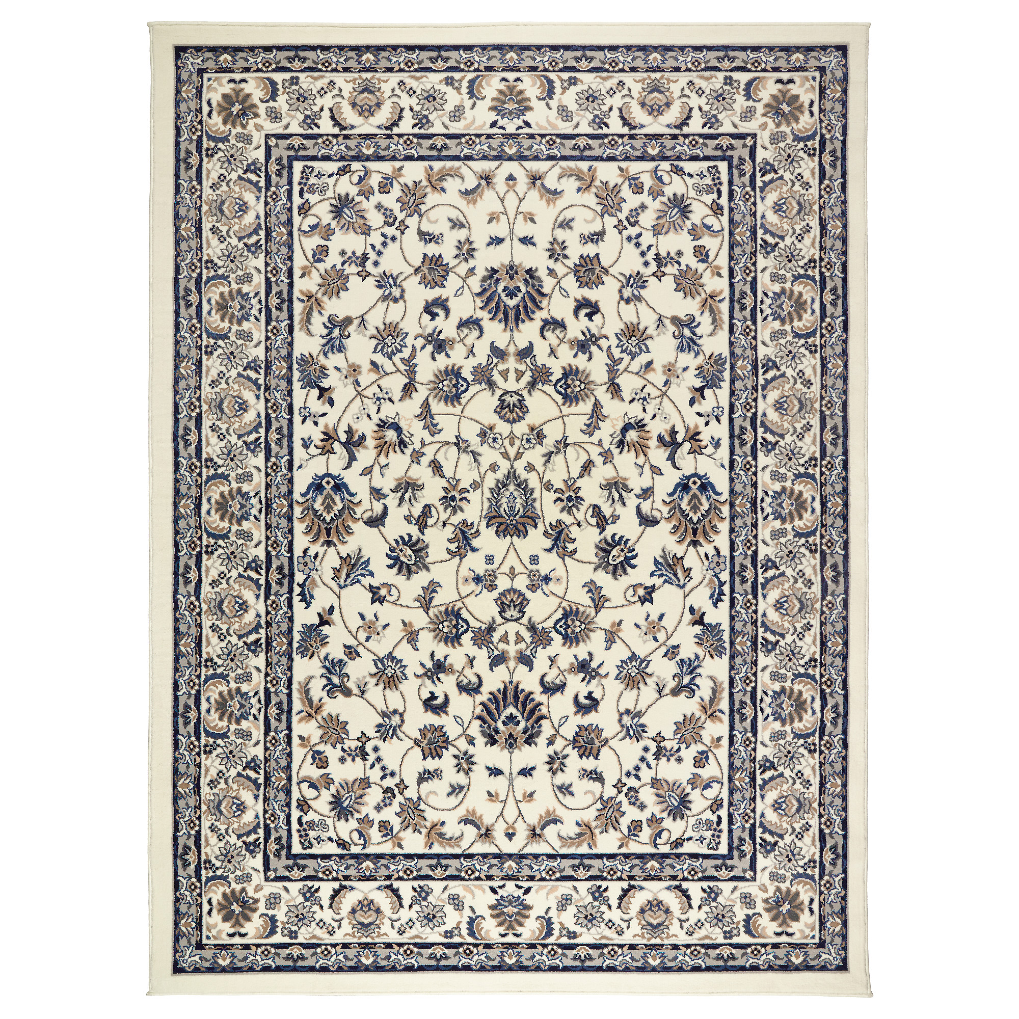 . VALL BY Rug  low pile   5   7  x7   7     IKEA