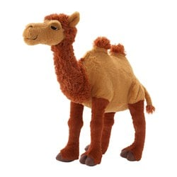 ÖNSKAD soft toy, camel Length: 45 cm