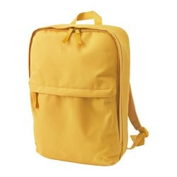 STARTTID backpack, S yellow