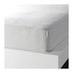 SÖMNIG fitted sheet, light grey Thread count: 166 /inch² Length: 200 cm Width: 160 cm