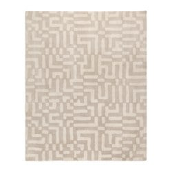 "FAKSE rug, high pile, off-white Length: 8 ' 2 "" Width: 6 ' 7 "" Area: 53.82 sq feet Length: 250 cm Width: 200 cm Area: 5.00 m²"