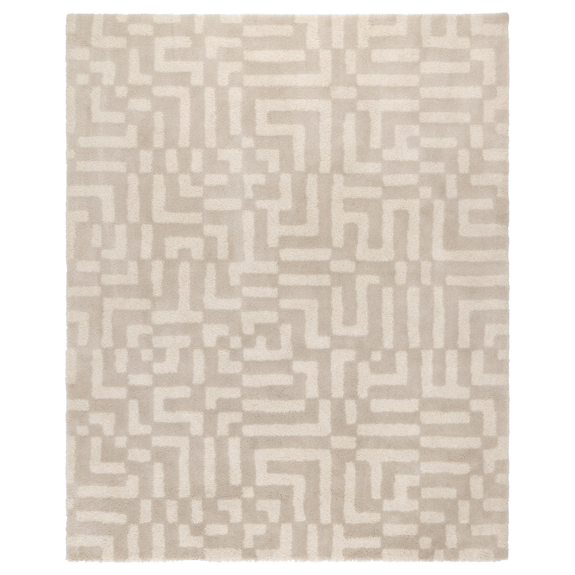FAKSE rug, high pile, off-white Length: 8 ' 2