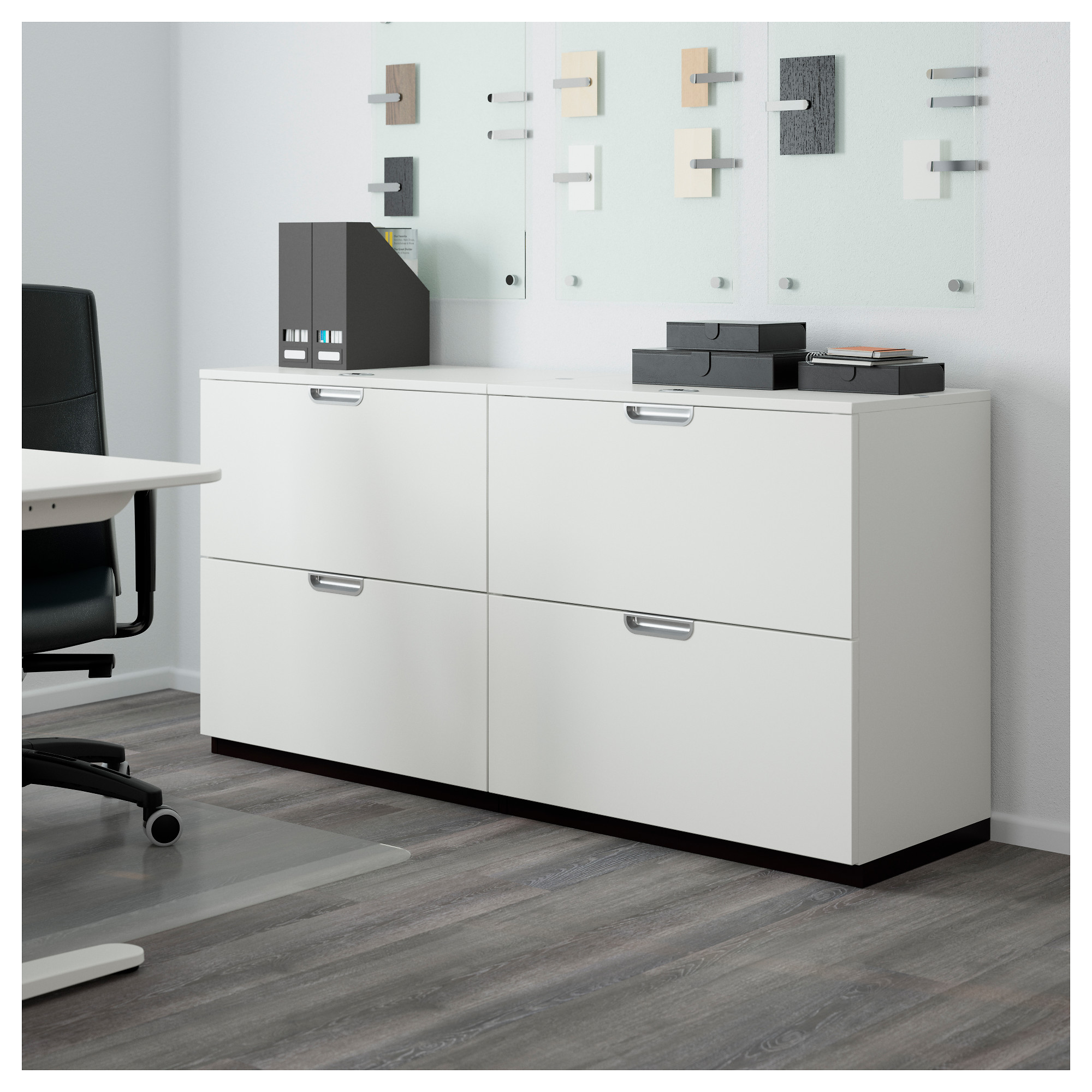 GALANT Storage Combination With Filing   Gray   IKEA
