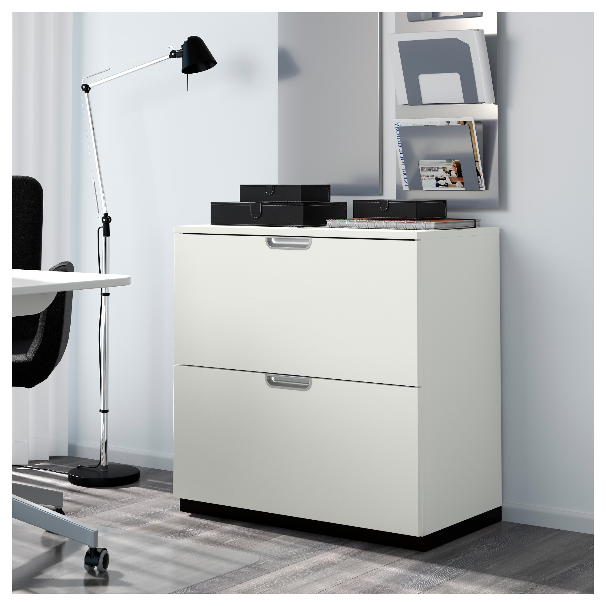 GALANT Drawer unit/drop file storage - white - IKEA