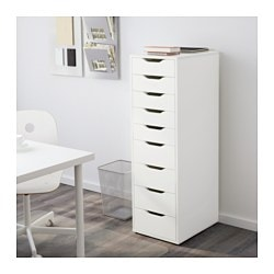 ALEX Drawer unit with 9 drawers - IKEA