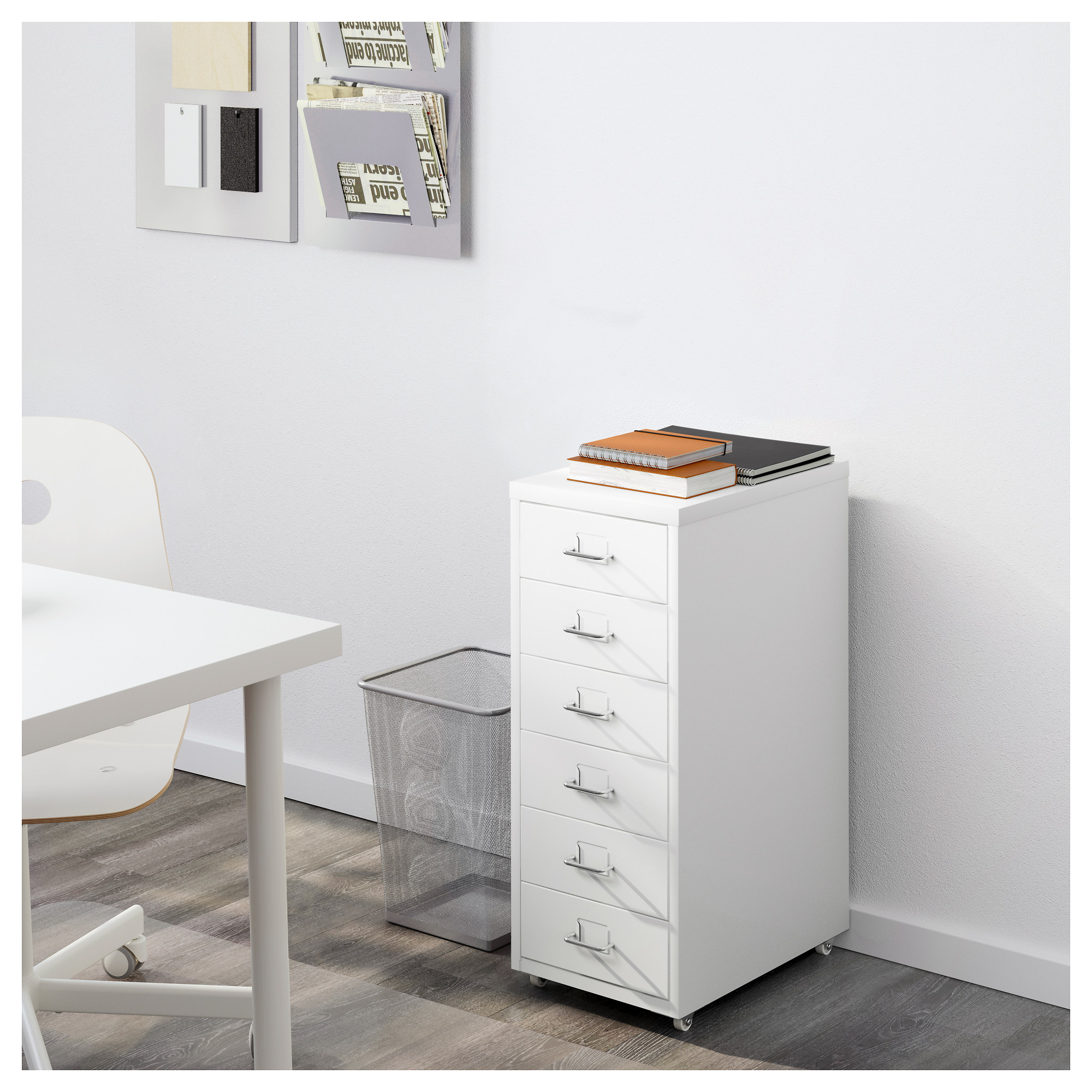 & HELMER Drawer unit on casters - white - IKEA