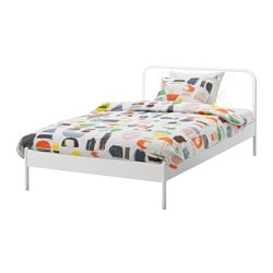 NESTTUN bed frame, white