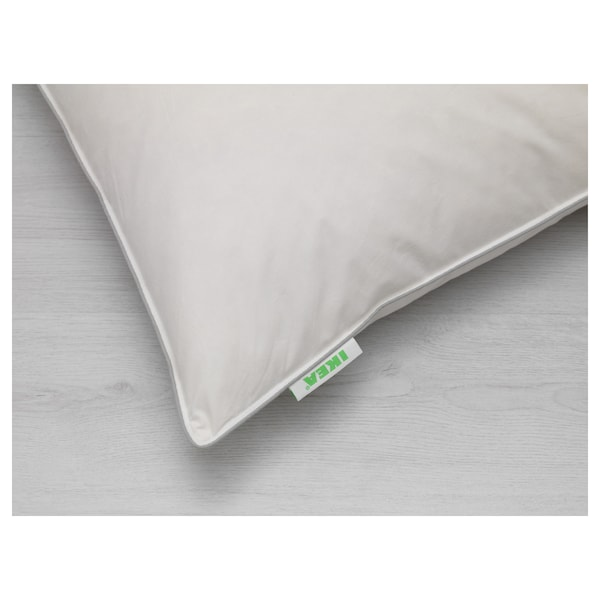 Lundgr e cuscino bianco ikea for Cuscino piuma ikea