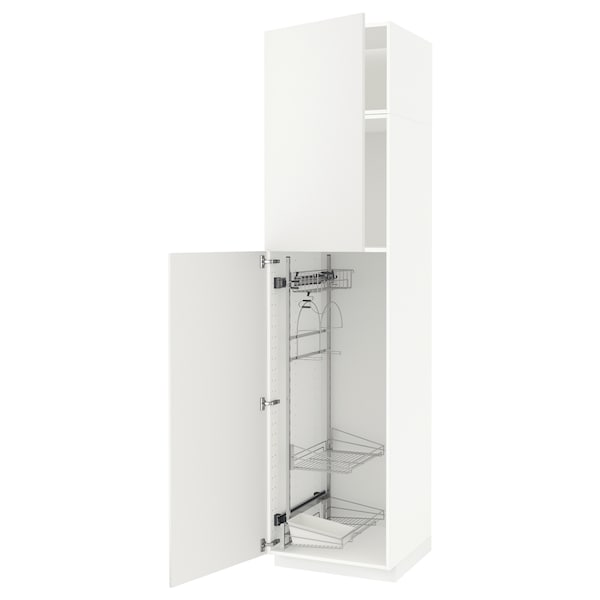 With WhiteHäggeby Interior Cabinet White Metod High Cleaning 8wPkn0O