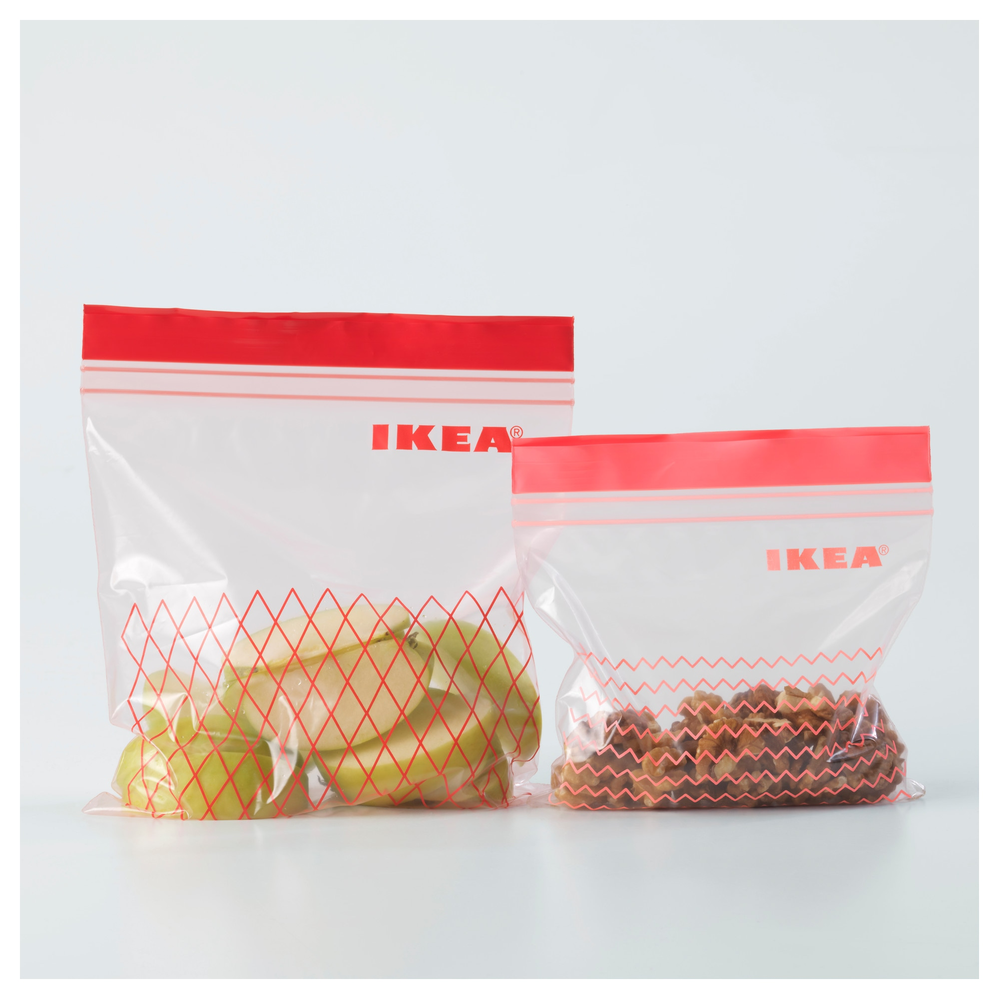 Resealable bag ISTAD red