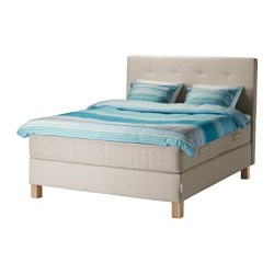 BEKKESTUA, Divan bed, Hesseng firm, Tromsdalen natural colour
