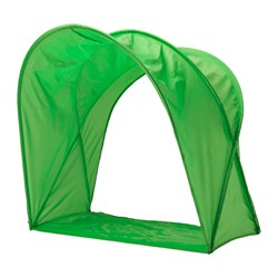 "SUFFLETT bed tent, green Height: 31 ½ "" Height: 80 cm"