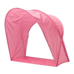 "SUFFLETT bed tent, pink Height: 31 ½ "" Height: 80 cm"
