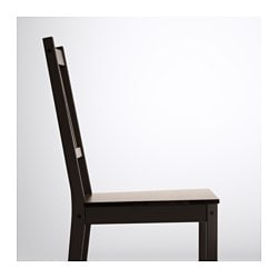 brown dining chairs. STEFAN Chair, Brown-black Brown Dining Chairs