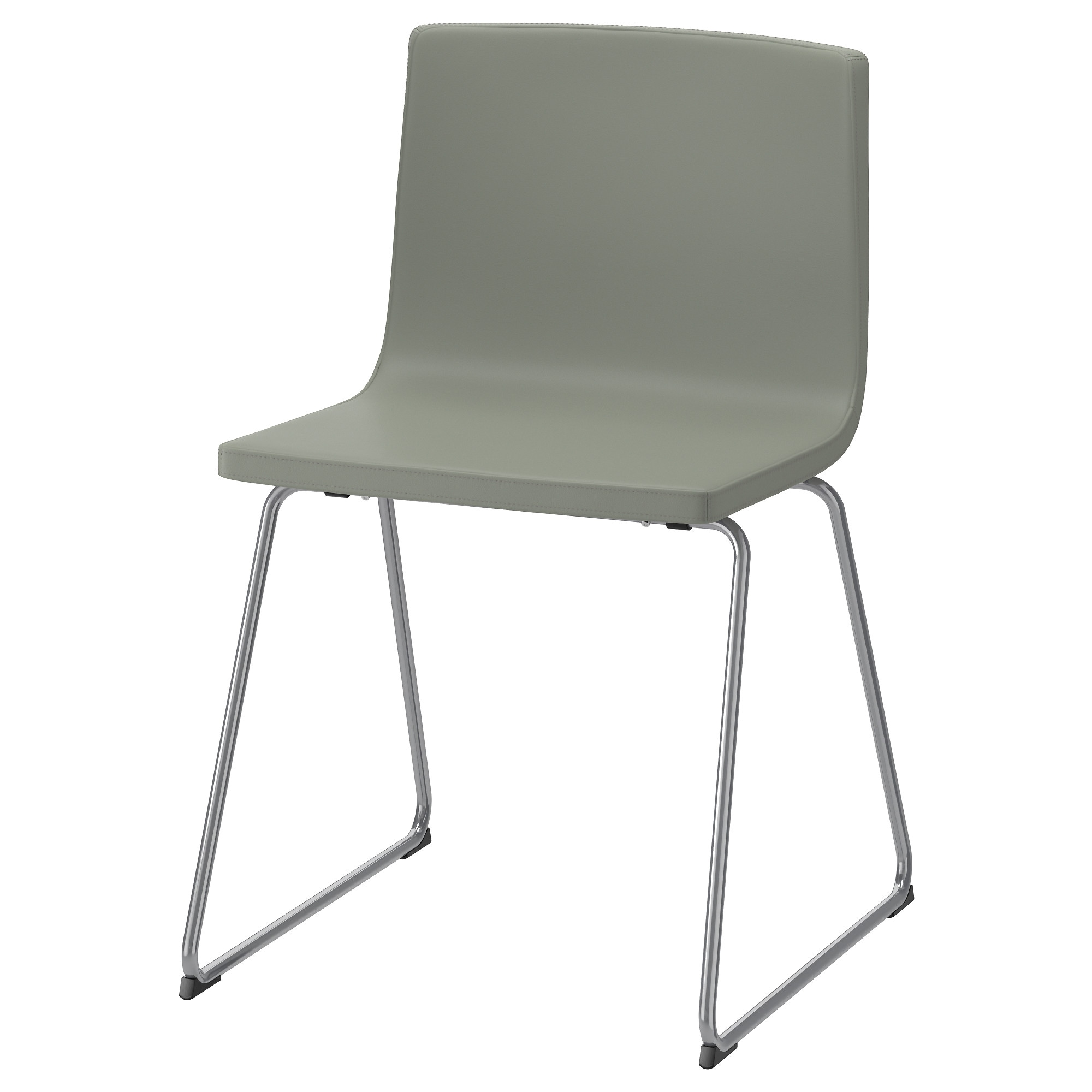 BERNHARD chair  chrome plated  Mjuk green Tested for  243 lb Width  19Dining chairs   Dining chairs   Upholstered chairs   IKEA. High Back Dining Chairs Ikea. Home Design Ideas