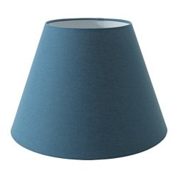 "OLLSTA shade, blue Diameter: 17 "" Height: 11 "" Diameter: 42 cm Height: 28 cm"