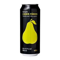 CIDER PÄRON Birnencider 4,5% vol. Inhalt: 500 ml