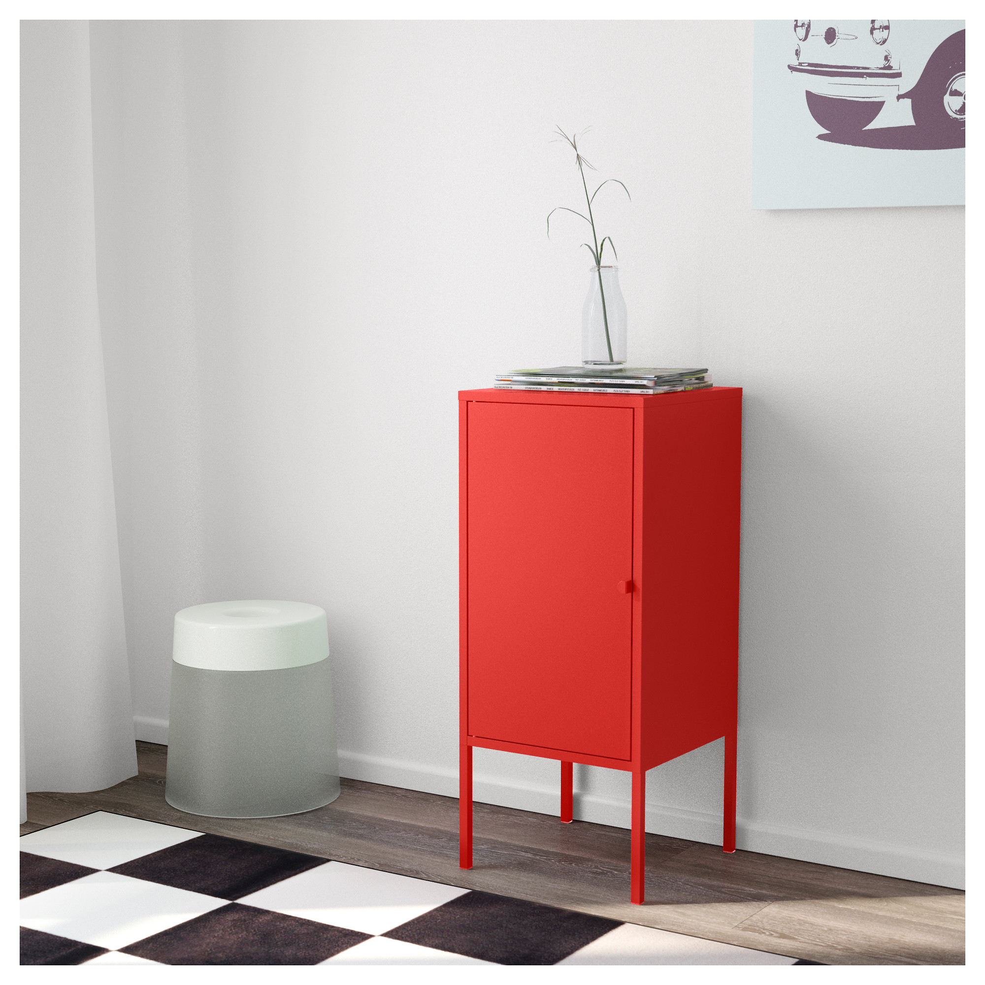 Charmant LIXHULT Cabinet   Metal/red   IKEA