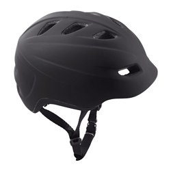 SLADDA bicycle helmet, L, black Max. diameter: 62 cm Min. diameter: 58 cm