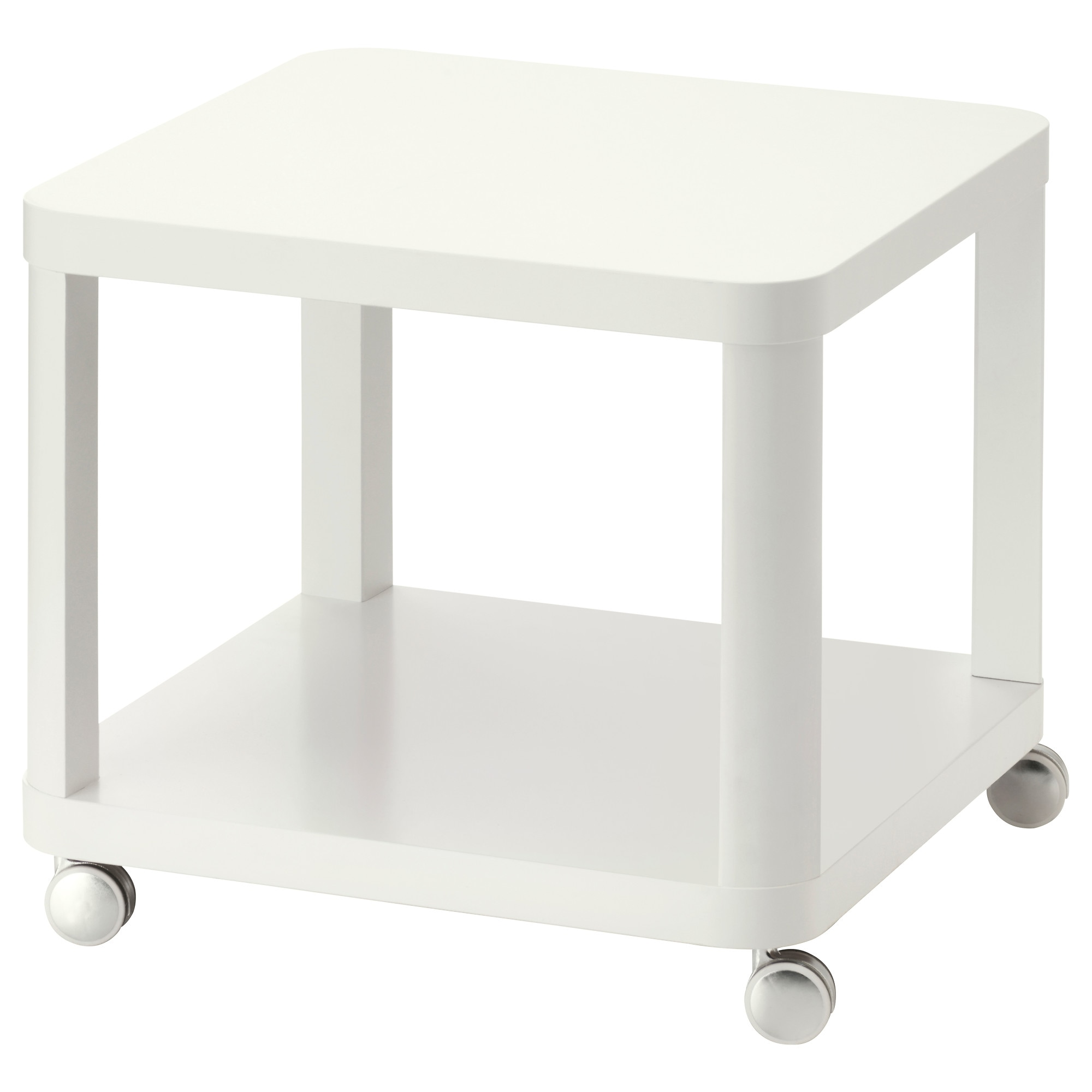 TINGBY Side table on casters white IKEA