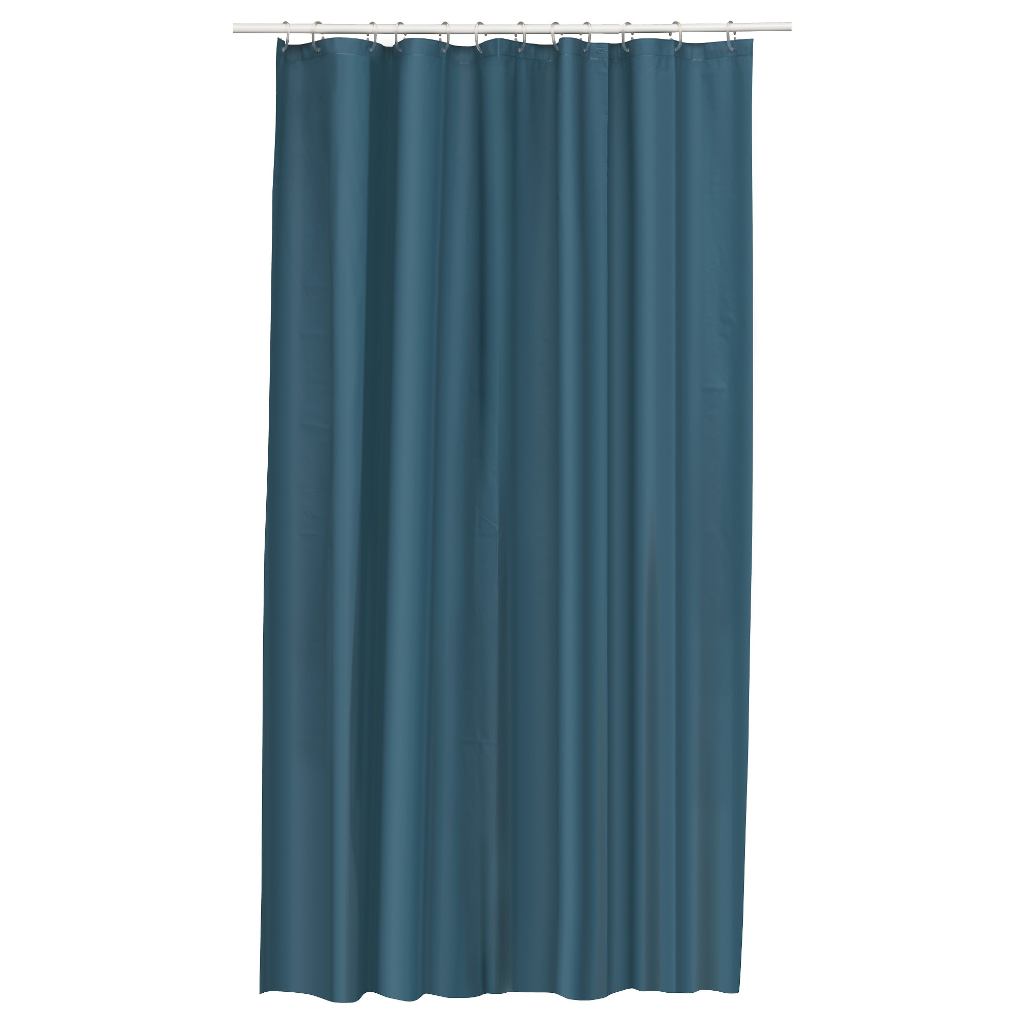 Bathroom plastic curtains - Eggegrund Shower Curtain Green Blue Length 71 Width 71 Area